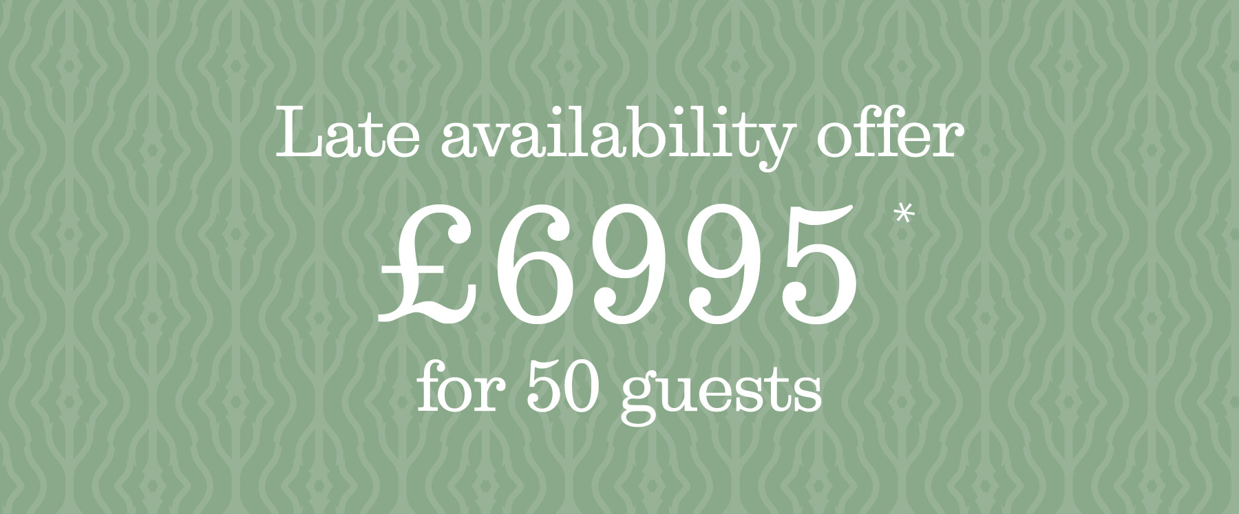 Late Availability Offer at Holbrook Manor